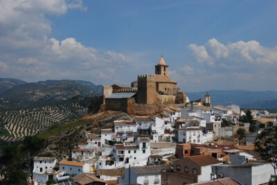 Iznájar Andalusië